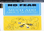 Free PDF No Fear: Much Ado About Nothing (Sparknotes No Fear Shakespeare) Review
