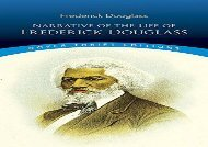 PDF Online Narrative of the Life of Frederick Douglass: Written by Himself (Dover Thrift Editions) Review
