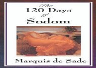 Free PDF The 120 Days of Sodom For Kindle