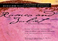 AudioBook Romeo and Juliet (Folger Shakespeare Library) Any Format