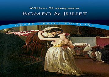 PDF Online Romeo and Juliet (Dover Thrift Editions) Review