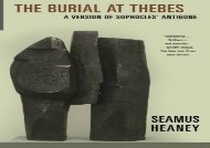 Free PDF The Burial at Thebes: A Version of Sophocles  Antigone For Kindle
