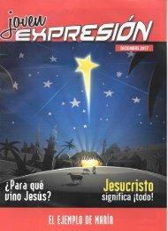 Expresión Joven Diciembre 2017 - ¿Para qué vino Jesús?