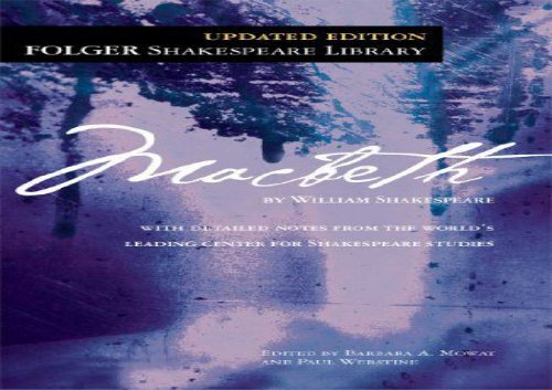 AudioBook The Tragedy of Macbeth (Folger Shakespeare Library) Epub