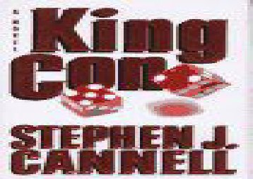 Read Online King Con: A Novel Epub
