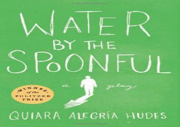AudioBook Water by the Spoonful Epub