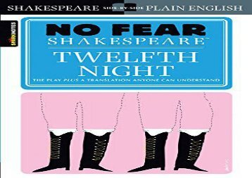 Read Online Twelfth Night (No Fear Shakespeare) Review