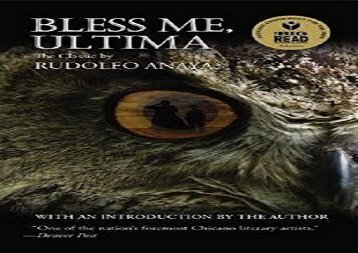 Read Online Bless Me, Ultima Epub