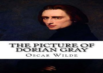 PDF Download The Picture of Dorian Gray Epub