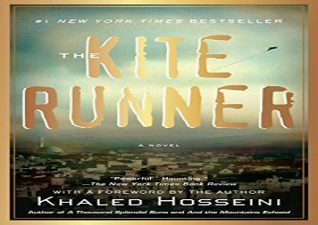 PDF Download The Kite Runner Epub
