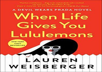 PDF Download When Life Gives You Lululemons For Full