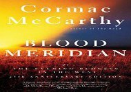 AudioBook Blood Meridian: Or the Evening Redness in the West (Vintage International) Epub
