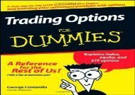 [+][PDF] TOP TREND Trading Options For Dummies  [READ]