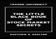 [+]The best book of the month The Little Black Book of Stock Market Secrets  [DOWNLOAD]