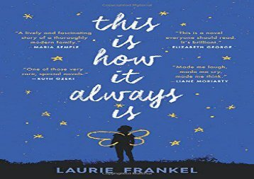 AudioBook This Is How It Always Is Epub