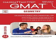 [+]The best book of the month Geometry GMAT Strategy Guide (Manhattan Prep GMAT Strategy Guides)  [FULL]