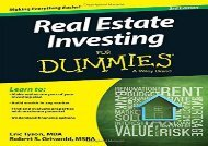 [+][PDF] TOP TREND Real Estate Investing For Dummies  [NEWS]