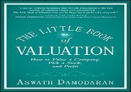 [+]The best book of the month The Little Book of Valuation: How to Value a Company, Pick a Stock, and Profit (Little Books. Big Profits)  [NEWS]