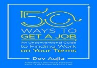 [+]The best book of the month 50 Ways to Get a Job: Customize Your Quest to Find Work You Love  [FULL]