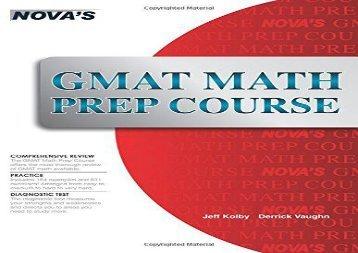 [+][PDF] TOP TREND GMAT Math Prep Course  [FREE]