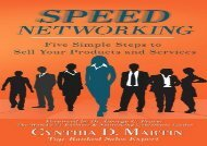 [+][PDF] TOP TREND Speed Networking: Five Simple Steps to Sell Your Products and Services [PDF]