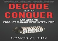 [+][PDF] TOP TREND Decode and Conquer: Answers to Product Management Interviews  [NEWS]