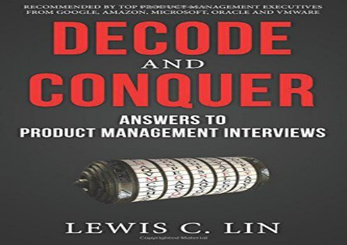 PDF] TOP TREND Decode and Conquer: Answers to Product