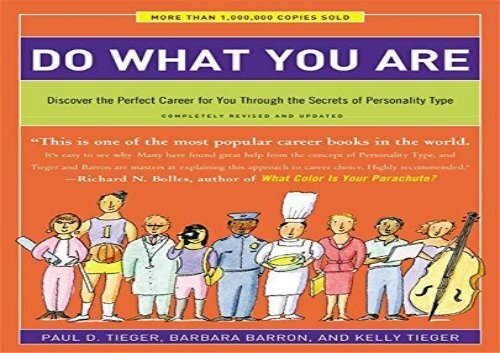 [+][PDF] TOP TREND Do What You Are: Discover the Perfect Career for You Through the Secrets of Personality Type - Completely Revised and Updated  [FREE]