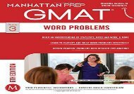 [+]The best book of the month Word Problems GMAT Strategy Guide (Manhattan Prep GMAT Strategy Guides) [PDF]