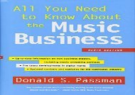 [+]The best book of the month All You Need to Know about the Music Business: Ninth Edition  [FULL]