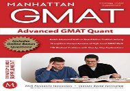 [+][PDF] TOP TREND Advanced GMAT Quant (Gmat Strategy Guides)  [DOWNLOAD]