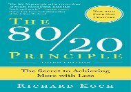 [+][PDF] TOP TREND The 80/20 Principle, Expanded and Updated: The Secret to Achieving More with Less  [FULL]