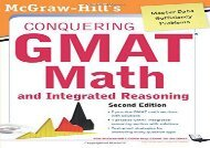 [+]The best book of the month McGraw-Hills Conquering the Gmat Math and Integrated Reasoning, 2nd Edition  [FREE]