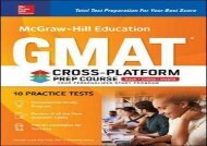 [+]The best book of the month McGraw-Hill Education GMAT Cross-Platform Prep Course, Eleventh Edition  [DOWNLOAD]