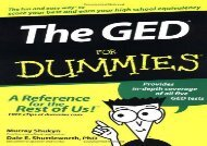 [+][PDF] TOP TREND The GED For Dummies  [NEWS]
