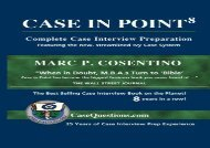 [+][PDF] TOP TREND Case in Point: Complete Case Interview Preparation  [NEWS]