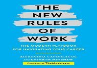 [+]The best book of the month The New Rules of Work: The Modern Playbook for Navigating Your Career  [FULL]