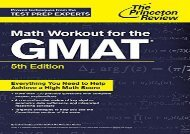 [+]The best book of the month Math Workout For The Gmat, 5Th Edition (Graduate School Test Preparation) [PDF]