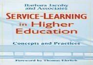 [+][PDF] TOP TREND Service Learning Higher Education: Concepts and Practices (The Jossey-Bass higher   adult education series)  [DOWNLOAD]