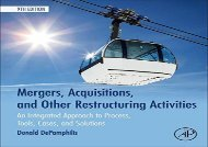 [+]The best book of the month Mergers, Acquisitions, and Other Restructuring Activities: An Integrated Approach to Process, Tools, Cases, and Solutions  [READ]