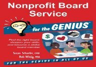 [+]The best book of the month Nonprofit Board Service for the GENIUS  [FULL]