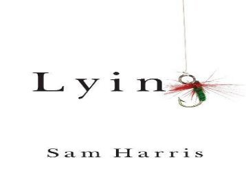 [+]The best book of the month Lying [PDF]