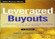 [+]The best book of the month Leveraged Buyouts: A Practical Guide to Investment Banking and Private Equity + Website (Wiley Finance)  [NEWS]