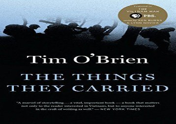 Read Online The Things They Carried Epub
