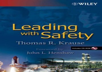[+][PDF] TOP TREND Leading with Safety: A Behavior-Based Approach  [FREE]