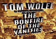 PDF Online The Bonfire of the Vanities Epub