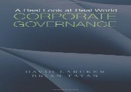 [+][PDF] TOP TREND A Real Look at Real World Corporate Governance  [DOWNLOAD]