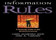 [+][PDF] TOP TREND Information Rules: A Strategic Guide to the Network Economy [PDF]
