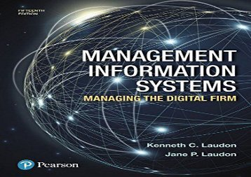 [+][PDF] TOP TREND Management Information Systems: Managing the Digital Firm  [DOWNLOAD]