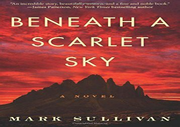 Free PDF Beneath a Scarlet Sky: A Novel For Kindle